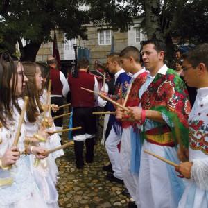 Danza de paus da Franqueira (A Cañiza, Pontevedra). Foto Fernando García
