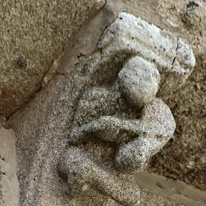 Igrexa de San Martiño de Moaña (Pontevedra)  século XII. Fotografía de Anabel Nikolai.