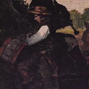 Aquí aparece, unha vez máis, a figura do neno  tamborileiro. Rechaman os arrochos do tambor  que apertan cara abaixo.