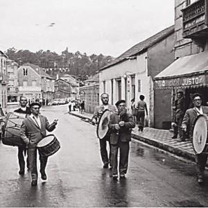 Treboada en Tomiño (Pontevedra) c. 1970.
