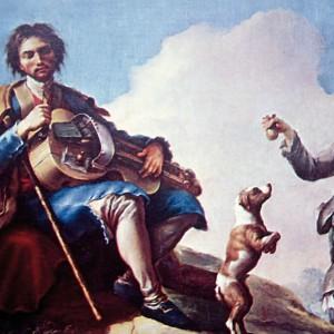 El ciego músico de Ramón Bayéu (1746-1793).