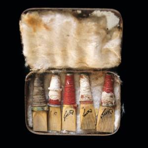 Caixa de palletas de José Miranda Fariña  (San Andrés de Vea, Vea, A Estrada, Pontevedra).