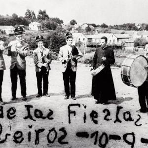 Os Airiños da Ulla (A Estrada, Pontevedra) nunha festa en Tabeirós en 1970.