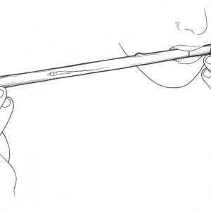 Violín de castiñeiro