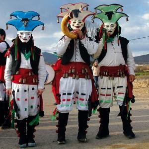 Os vergalleiros de Sarreaus (Ourense).  Fotografía Fernando García.