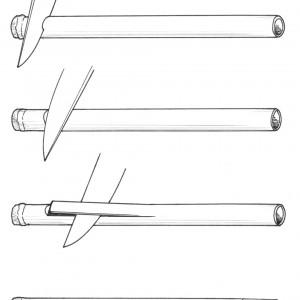 Proceso de fabricación dun pallón.  Deseño de Ramón Marín.
