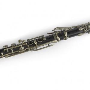 Clarinete en Sib de trece chaves.  Colección do autor. Fotografía Alba Vázquez Carpentier.
