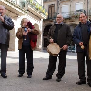 A Música de Vilar (Calvos de Randín, Ourense, 2008).  Fotografía do autor.