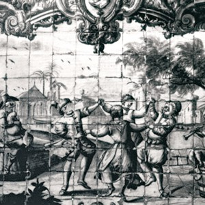 Tocadores de gaita de fol e óboe representados na Quinta de Manique (Lisboa, s. XVII-XVIII) .
