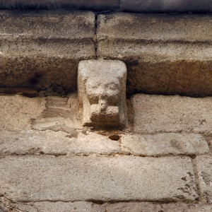 Dolio na igrexa de San Domingos (Lugo).