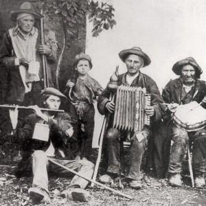 """""""Os pobres de Mondariz""""  (Pontevedra). Finais do século XIX."""