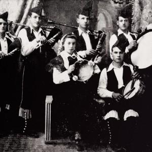 Os Barrios de Chantada (Lugo, c. 1930).  Arquivo do autor.