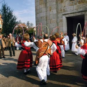 Rancho de reis en Salceda  de Caselas (Pontevedra).  Fotografías Fernando García.