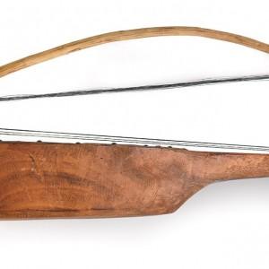 Rabel fabricado por Amador Bruña  (Porto das Portelas, Zamora).  Colección do autor. Fotografía Alba Vázquez Carpentier.